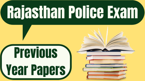 rajasthan police old Papers