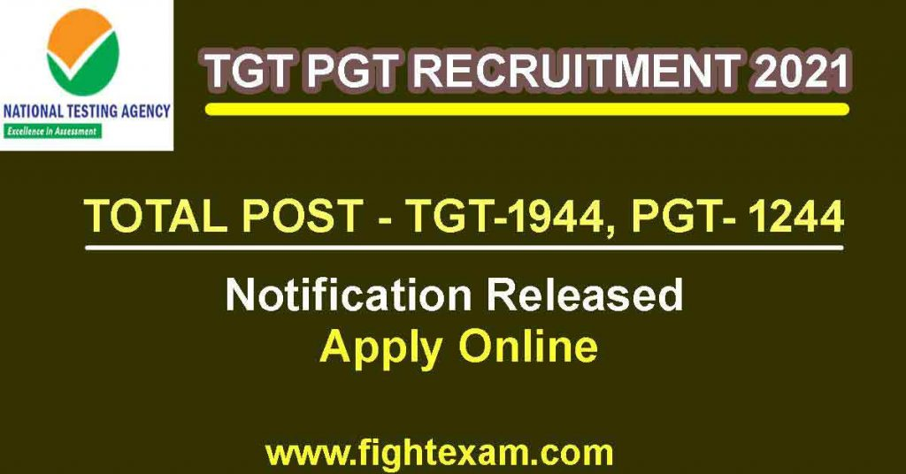 tgt pgt Recruitment in emrs